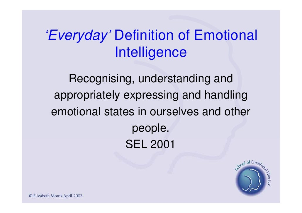 emotional literacy Emotional literacy is regarded as a social construction it is different to emotional intelligence, which is more individualistic and attempts to measure awareness as if emotions were measurable in a rational way why emotional literacy is the key to great leadership.