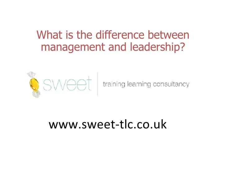 a comparison of the differences between management and leadership and transactional and transformati Transactional and transformational leadership article shared by transactional leadership, as the word transaction implies, is based on an exchange process (i) active management by exception behaviour: to influence behaviour and performance of.