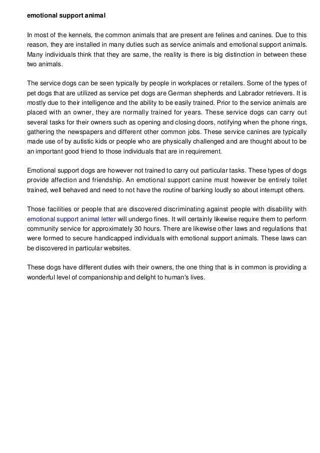 Service Animal Letter Timiznceptzmusic