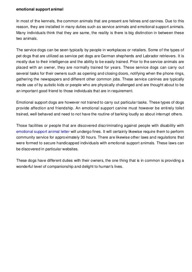 emotional support animal letter housing emotional support animal letter 18046