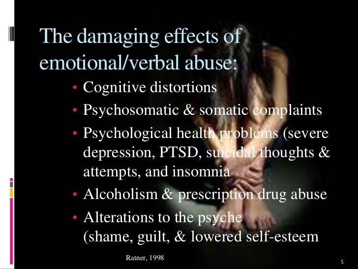 3 examples of emotional dating abuse