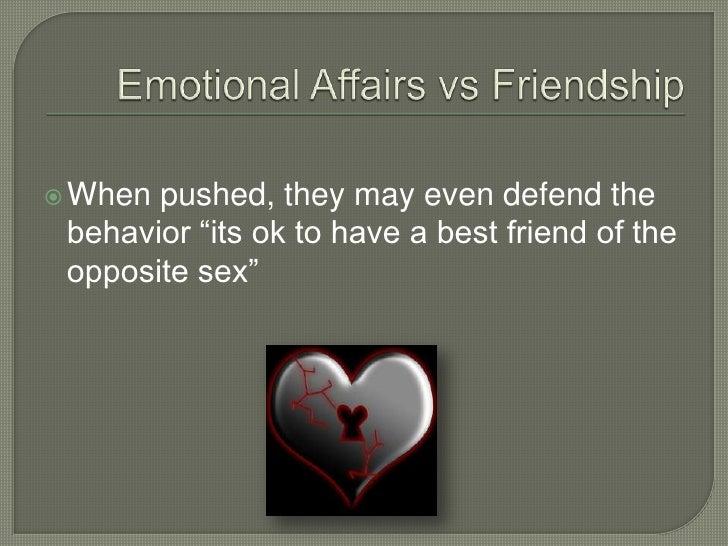 Emotional affair with best friend