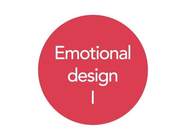 Las bases del diseño emocional