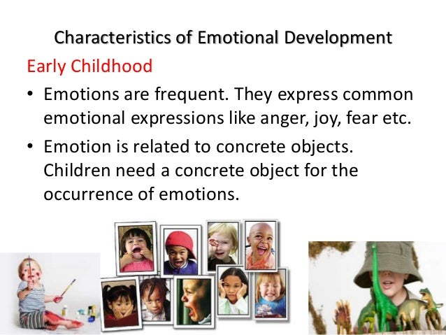 early years as a child emotional enhancement articles