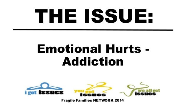 Emotional Hurts - Addiction THE ISSUE: Fragile Families NETWORK 2014