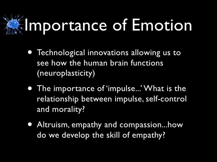 Emotional maturity in relationships