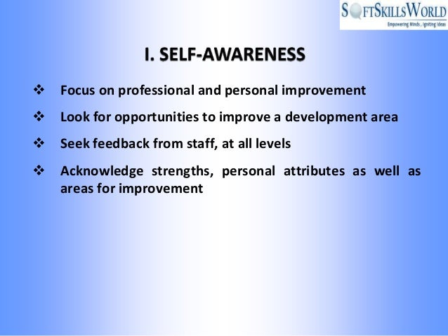 improve personal development