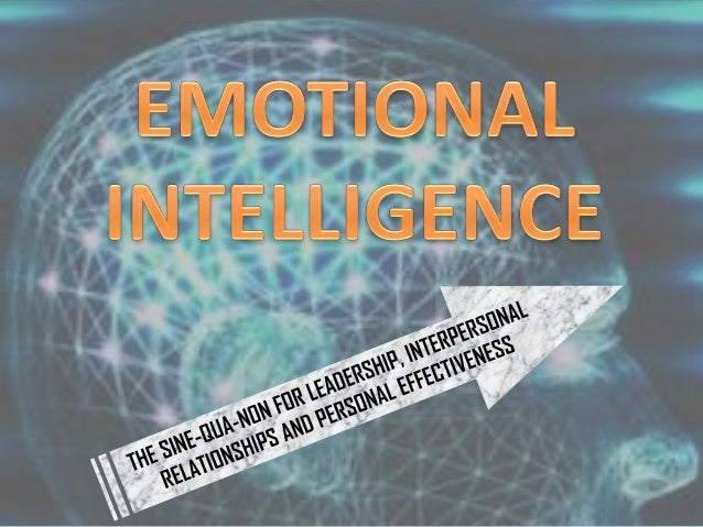 Emotional intelligence and its relation to