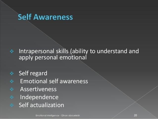 intrapersonal awareness