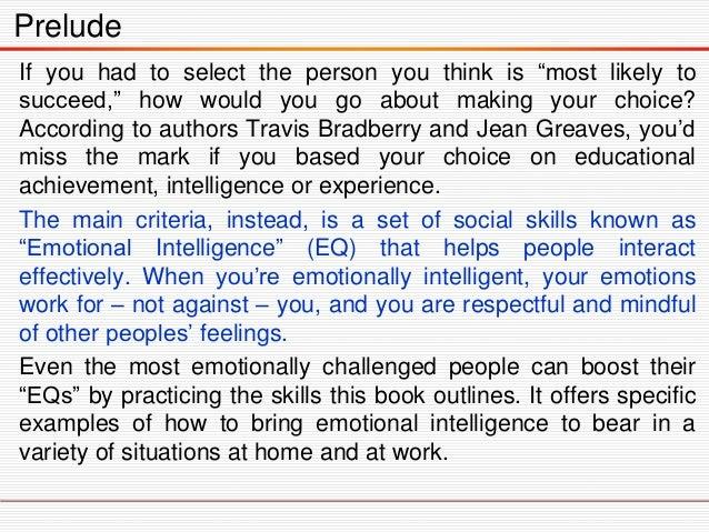 Emotional intelligence 2.0 Slide 3