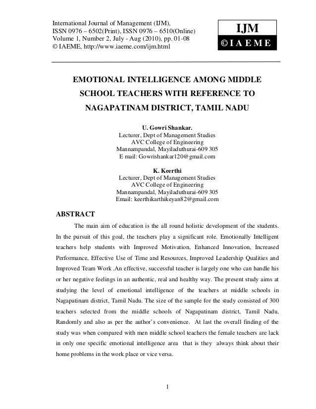 International Journal of Management (IJM), – 6502(Print), ISSN 0976 – 6510(Online) International Journal of Management (IJ...