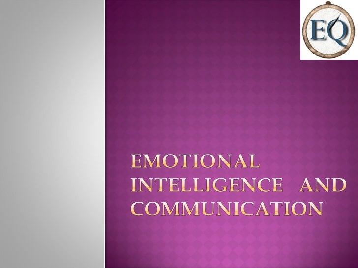 Emotional intelligence in business communication