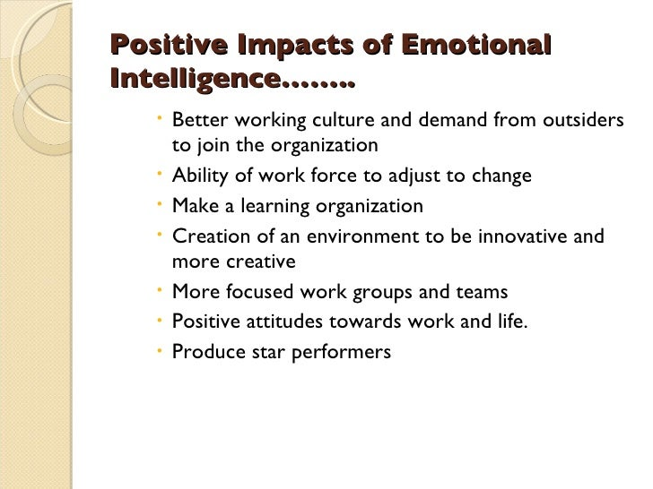 Emotional Intelligence and its Impact on Leadership