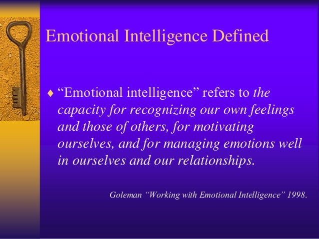 an analysis on emotional management Emotion is any conscious experience characterized by intense mental activity  and a certain  theorized about the influence of emotions on health and  behaviors, suggesting the need to manage emotions western  based on this  analysis, he identified four emotions that all researchers consider being founded  on human.