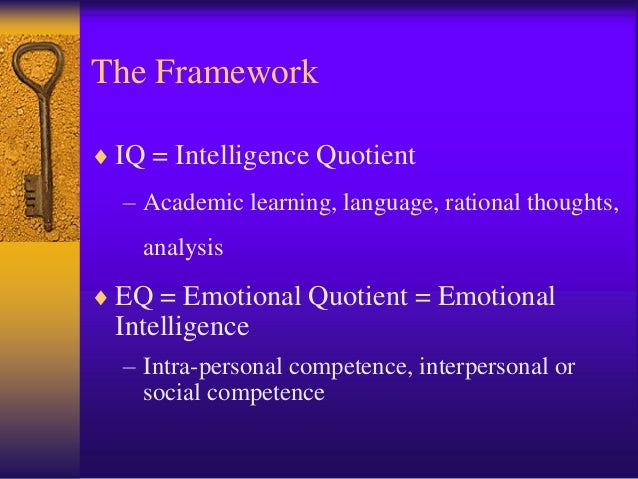 an analysis of the idea of intelligence quotient and the major issue of the intelligence measuring The purpose of this special issue of cross cultural management - an international journal serves to focus on cultural issues related to applied use of emotional and social intelligence competencies in diverse cultures articles in the special issue include data from various countries including india, peru, china, italy, australia, and the.