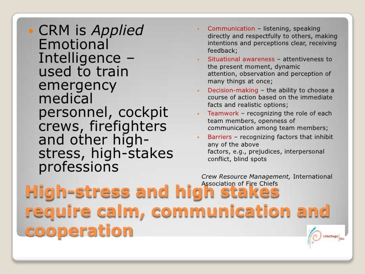 the crew resource management and its impact on aviation safety The session also reviews the importance of communication for aviation safety management systems (asms) and crew resource management (crm) and briefly presents some of the communication principles and processes underlying communication in aviation safety including perception, jargon, language and meaning, message distortion, information overload .