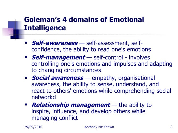 emotional intelligence leadership skills anthony mc keown  8