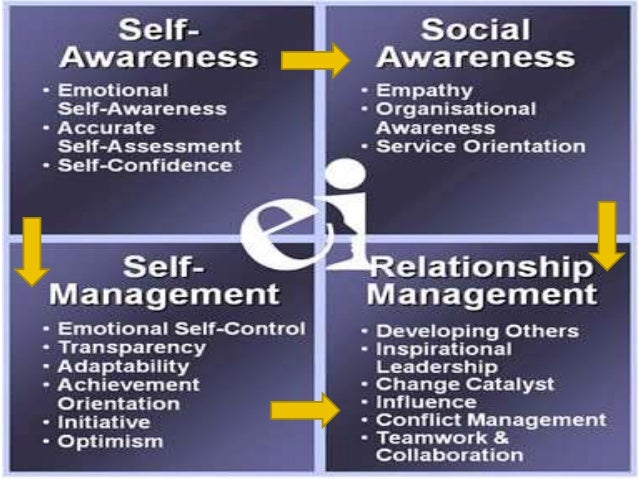self awareness and relationship management