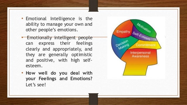 Emotional Intelligence by Alejandra Ponce  Slide 3