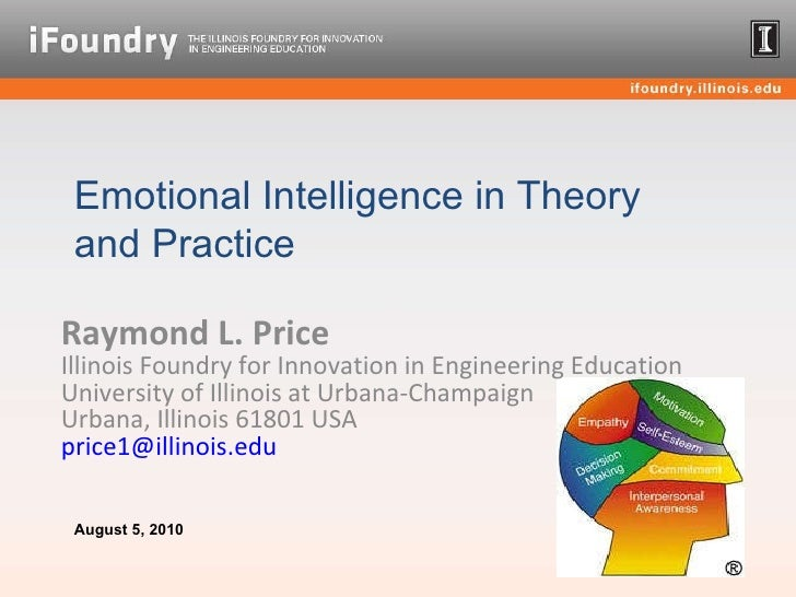 Raymond L. Price Illinois Foundry for Innovation in Engineering Education  University of Illinois at Urbana-Champaign Urba...