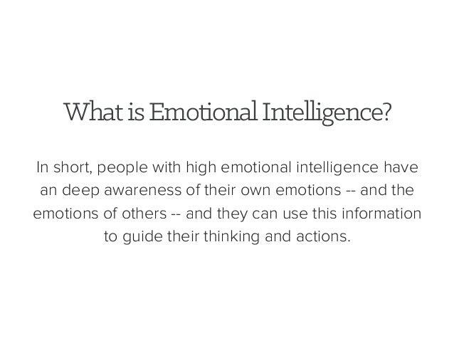 Emotional iq test