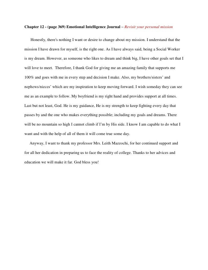 personal journal entry template