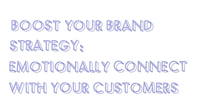 What is the main thing that a customer must have before they buy from you?