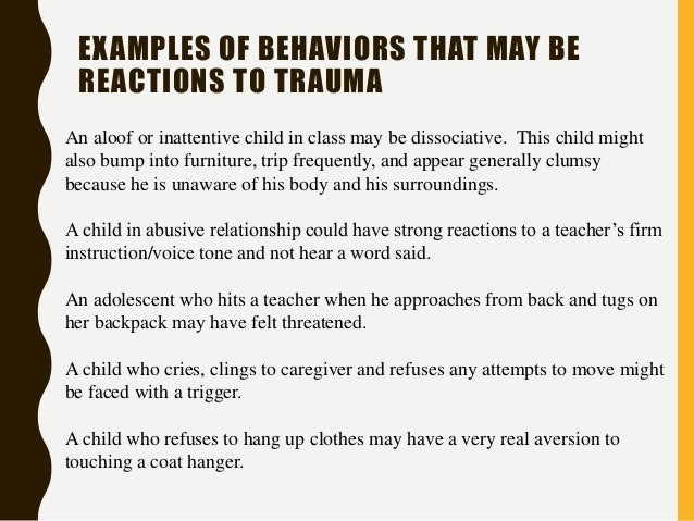 the effects and emotions of sexually abused children Tf-cbt addresses the effects  express emotions,  tf‑cbt is appropriate for use with sexually abused children or children exposed to trauma.