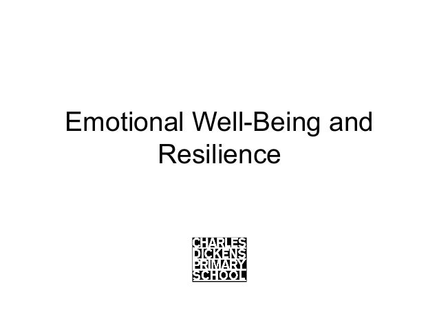 Emotional Well-Being and Resilience