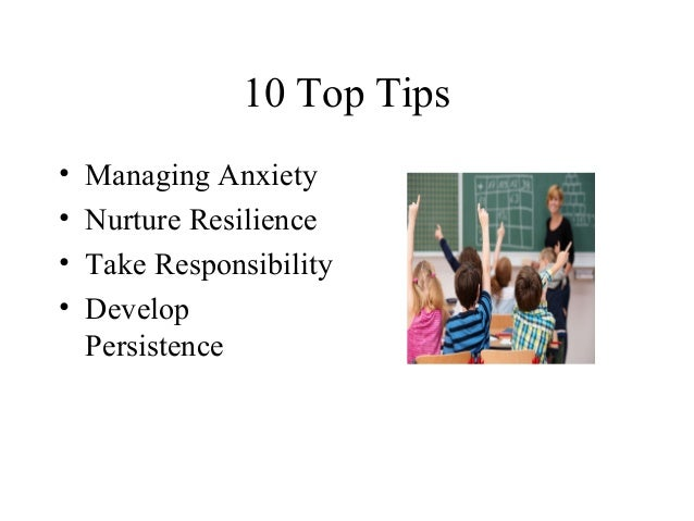 Emotional well being and resilience Slide 3