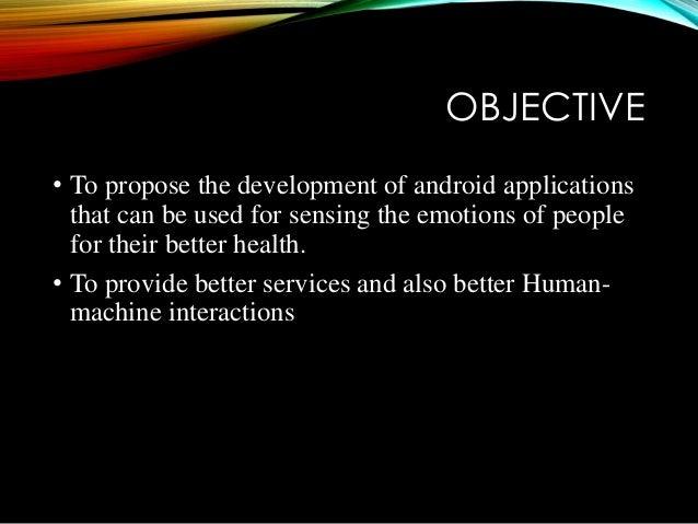 Emotion recognition Slide 2