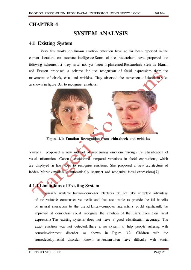 Recognition Of Facial Expressions 11