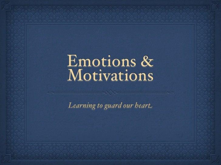motivation and emotion psychology essay