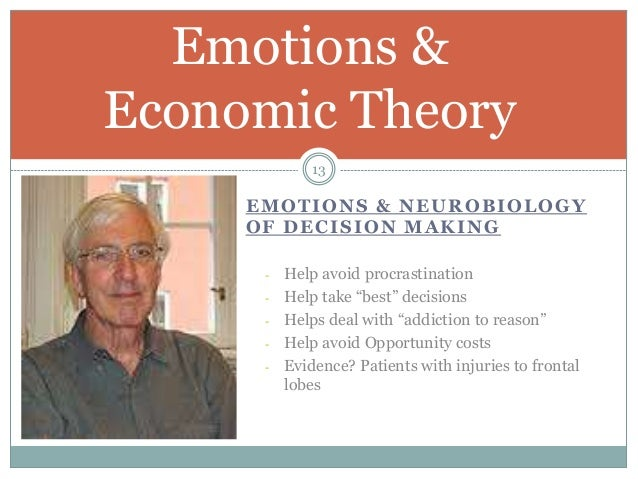 Emotions & Behavioral Economics