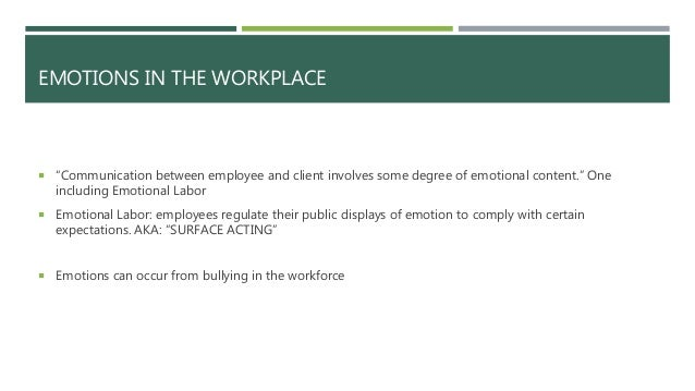 emotions by office environment articles