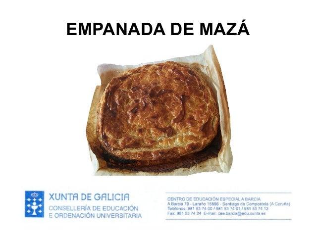 EMPANADA DE MAZÁ