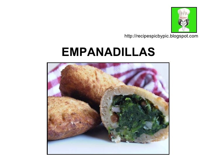 EMPANADILLAS http://recipespicbypic.blogspot.com