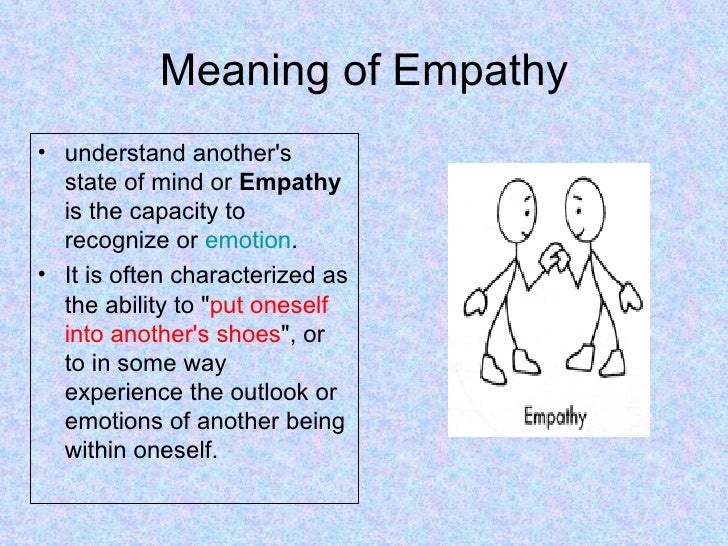 ... 3. Meaning Of Empathy ...