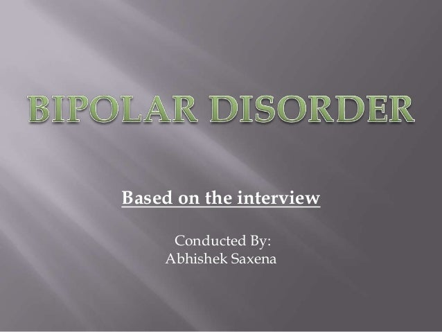 Based on the interview Conducted By: Abhishek Saxena