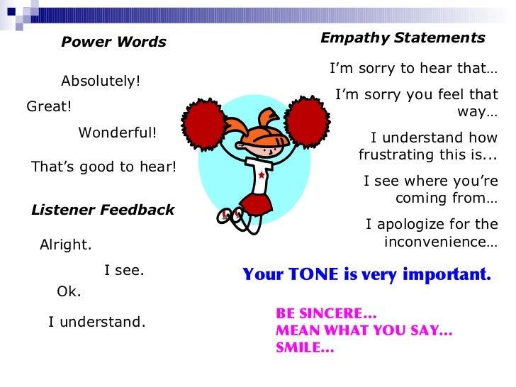 empathy examples