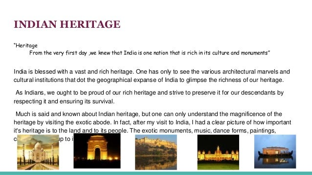 our rich heritage