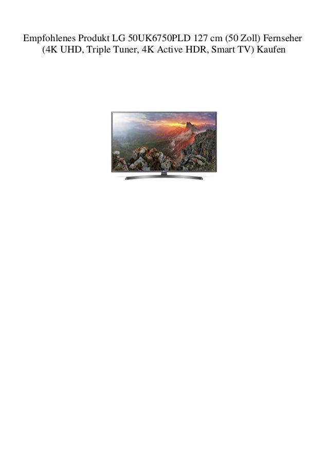 b1a5b4200 Empfohlenes Produkt LG 50UK6750PLD 127 cm (50 Zoll) Fernseher (4K UHD…