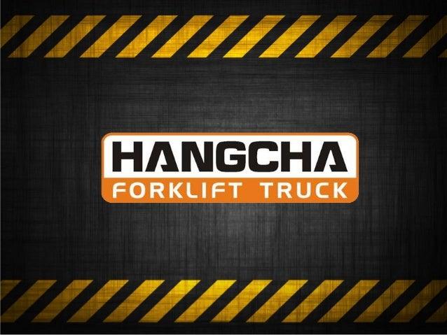 Nova linha de equipamentos XF Series Hangcha 30 anos de experiência na produção de empilhadeiras com a mais recente tecnol...