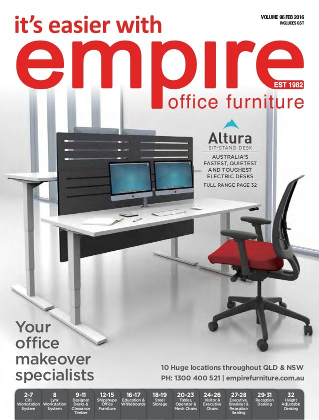 Stupendous Empire Office Furniture Brochure Interior Design Ideas Gentotryabchikinfo