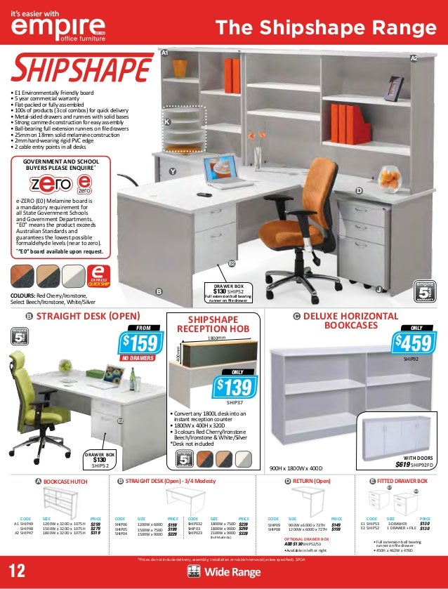 empire office furniture brochure