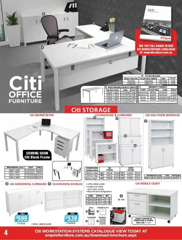 Office Furniture Brochure Interior Design