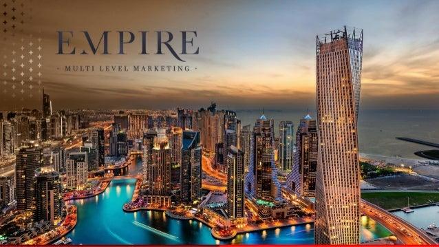 Quem Somos EMPIRE FINANCIAL CONSULTING LLC • Empresa sediada no DUBAI e de capitais 100% árabes; • Escritórios em Jumeirah...