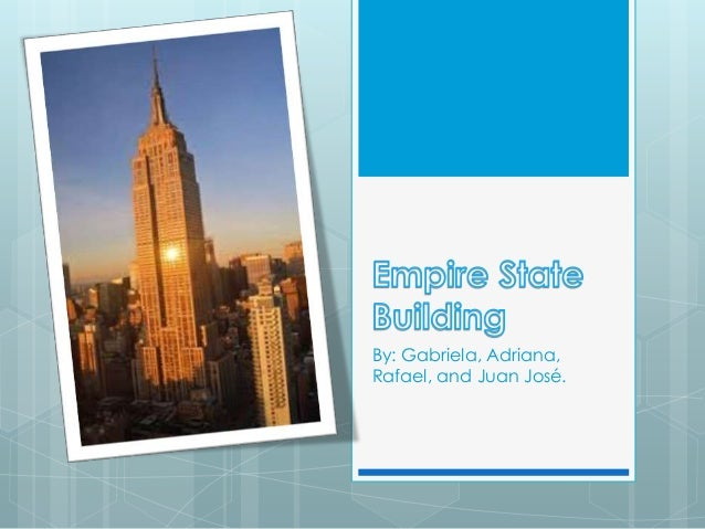 empire state building presentation