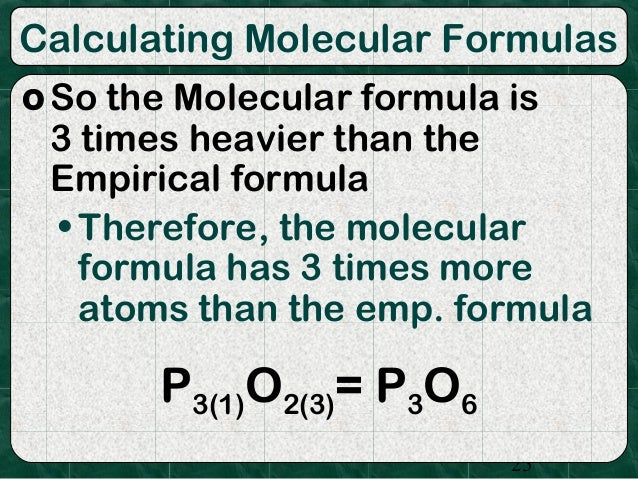 essay on empirical formula Disclaimer: this essay has been submitted by a student this is not an example of the work written by our professional essay writers you can view samples of our professional work here any opinions, findings, conclusions or recommendations expressed in this material are those of the authors and do.