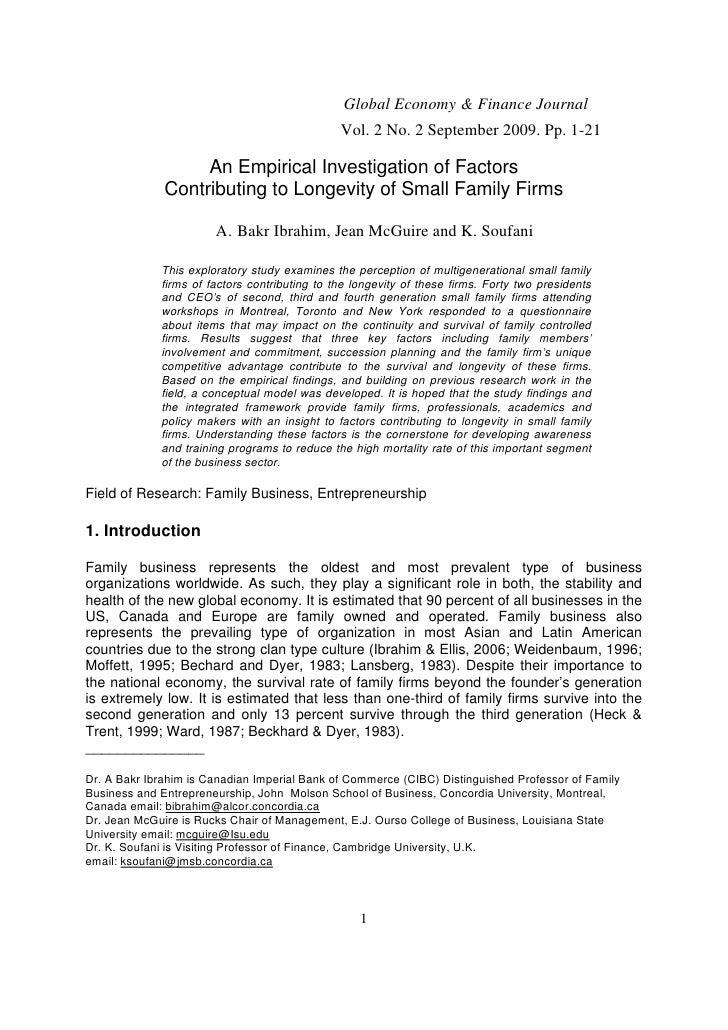 Global Economy & Finance Journal                                               Vol. 2 No. 2 September 2009. Pp. 1-21      ...